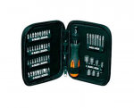 SET DE ATORNILLADOR CON CRIQUET Y 56 PIEZAS  BLACK AND DECKER